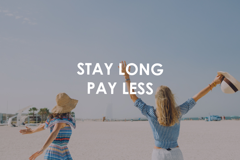 STAY LONG PAY LESS
