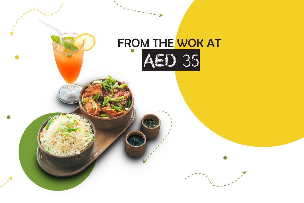 From the WOK at AED 35