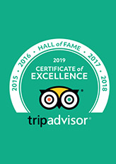 Tripdavisor - 2019 Certificate of Excellence