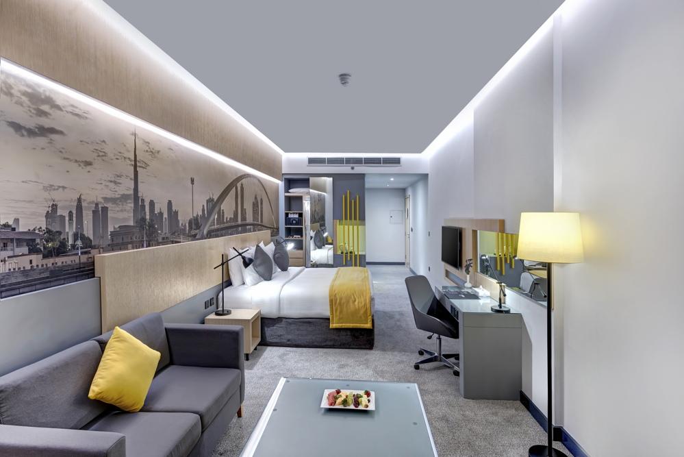 Skyline Premium Room - Bedroom view