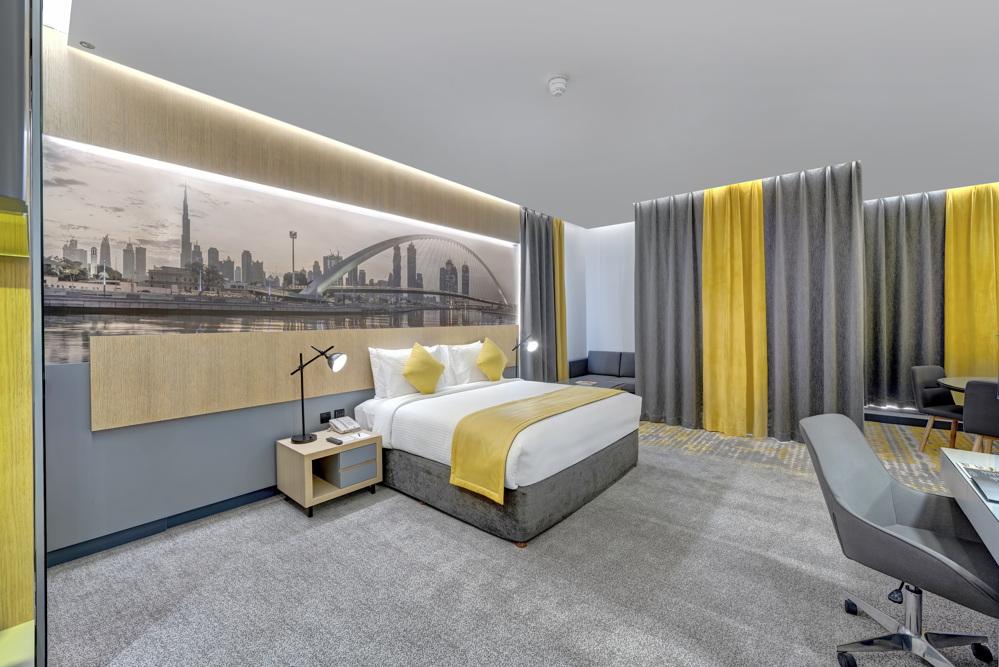 Urban Suite - Bedroom view