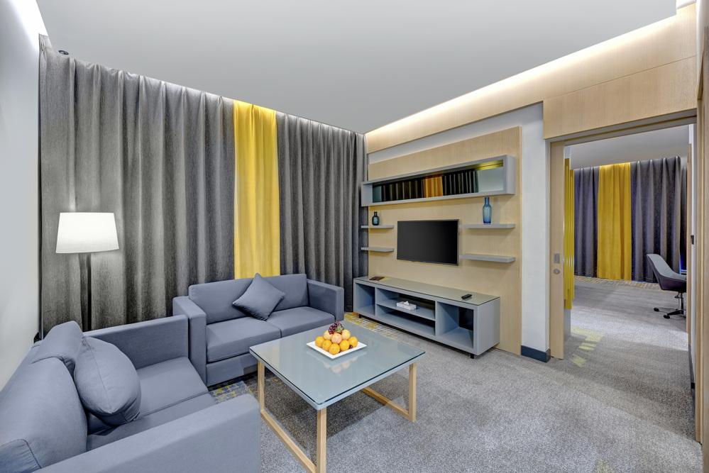 Urban Suite - Living Room Entrance