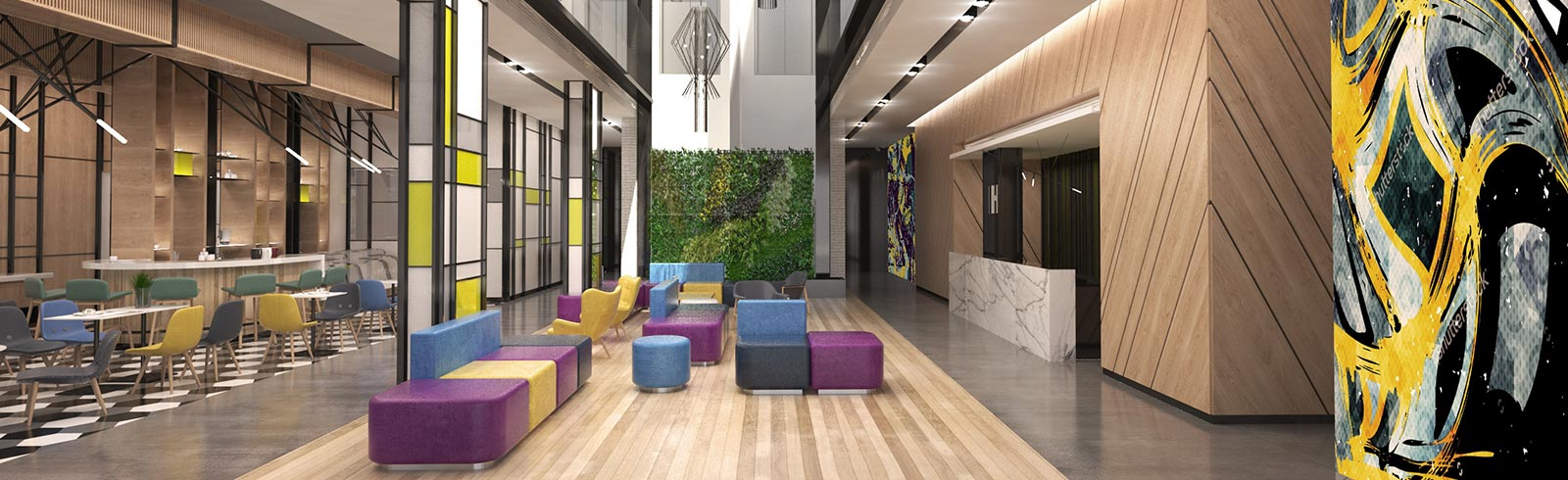 Hotel Lobby Urban Al Khoory