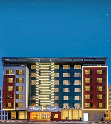 Al Khoory Atrium Hotel<span>Al Barsha</span>