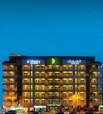 Al Khoory Hotel Apartments<span>Al barsha</span>