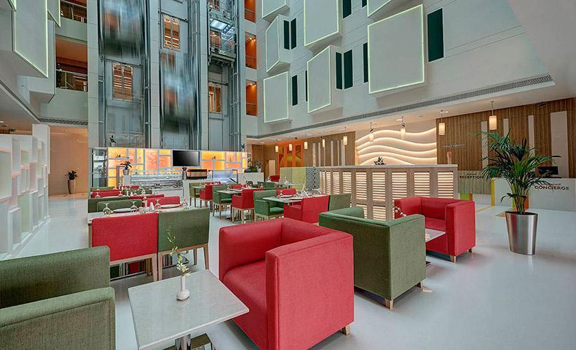 Al Khoory Atrium Hotel
