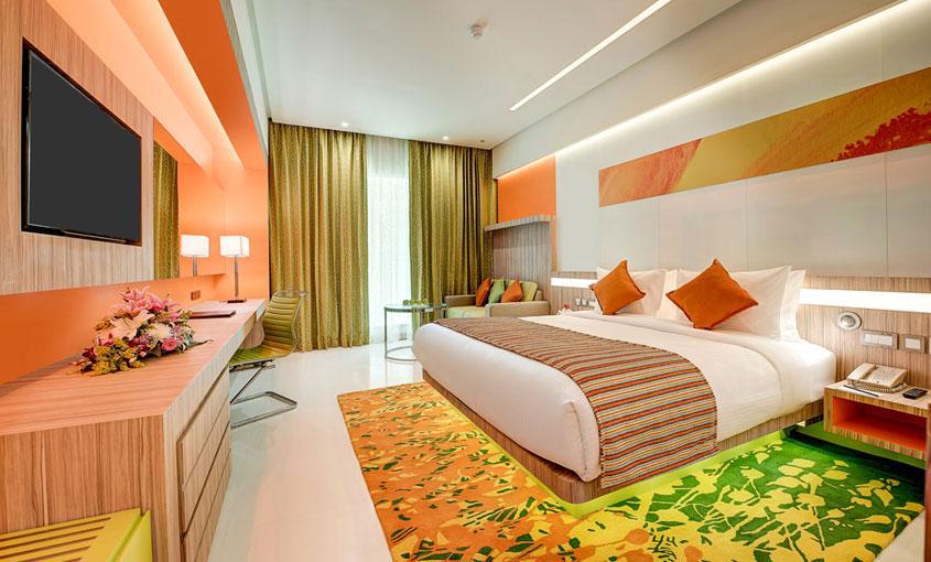 Deluxe Room – Al Khoory Atrium Hotel