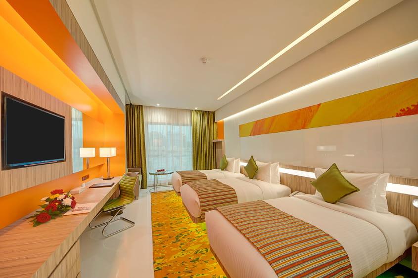 Deluxe Triple Room – Al Khoory Atrium Hotel