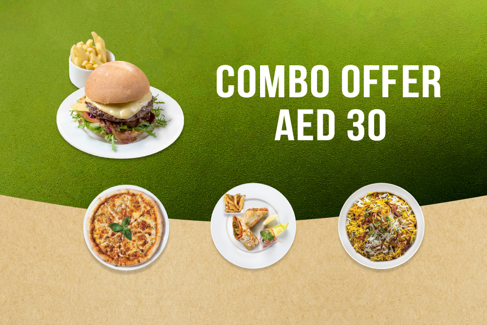 Combo Offer - AED 30
