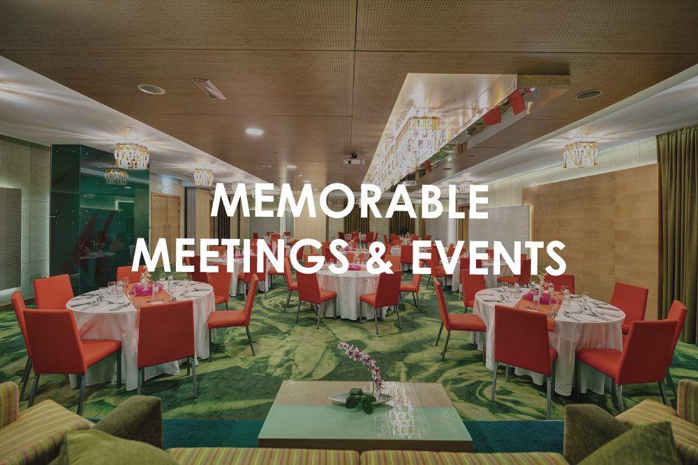 Memorable Meetings & Events
