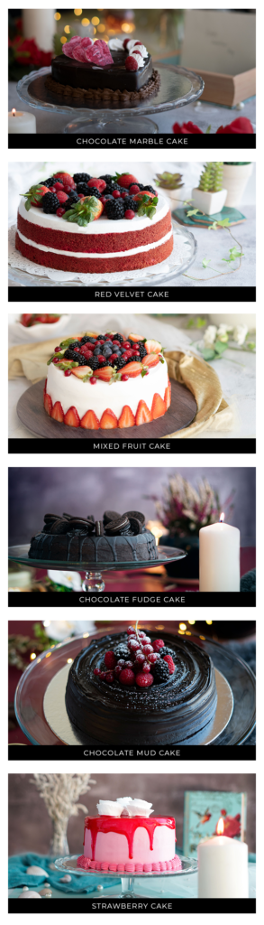 Cakes for any occasions at Al Khoory Hotels